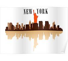 New York City Art Poster