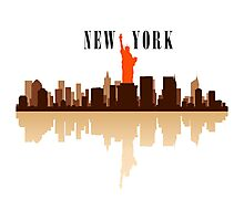 New York City Art Photographic Print