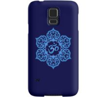 Blue Lotus Flower Yoga Om Samsung Galaxy Case/Skin