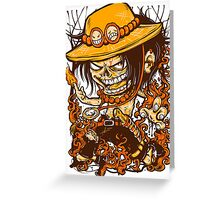Captain Fire Greeting Card