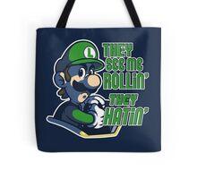 Luigi MK8 - Ridin' Dirty Tote Bag
