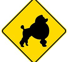 Poodle Crossing by kwg2200