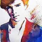 Sherlock - Splash of Colour by PashArts