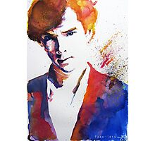 Sherlock - Splash of Colour Photographic Print