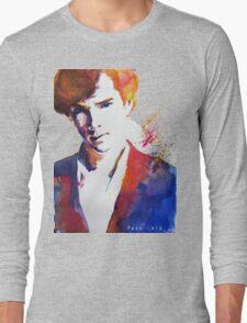 Sherlock - Splash of Colour Long Sleeve T-Shirt