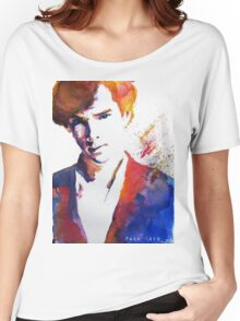Sherlock - Splash of Colour Women's Relaxed Fit T-Shirt