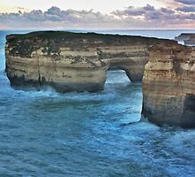 Twilight on the Great Ocean Road by Ferenghi