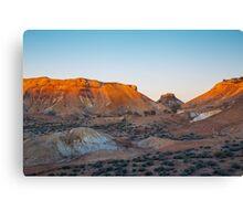 Coloured Desert Canvas Print