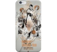 SPURS tribute - Parker Ginobili Duncan iPhone Case/Skin