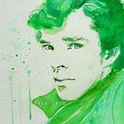 Emerald - Sherlock by PashArts