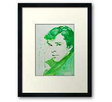 Emerald - Sherlock Framed Print