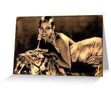Beauty & Beast Greeting Card