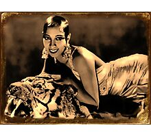 Beauty & Beast Photographic Print
