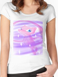 Pokemon! - Mew! Women's Fitted Scoop T-Shirt