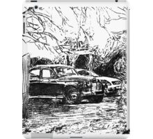 Vintage Car In Drive iPad Case/Skin