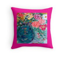 Romance Flowers Designer Decor & Gifts Throw Pillow