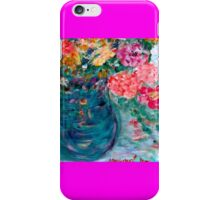 Romance Flowers Designer Decor & Gifts by Marie-Jose Pappas iPhone Case/Skin