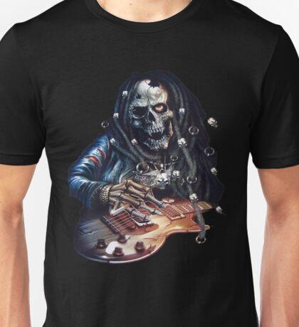 skull rock guitaris Unisex T-Shirt