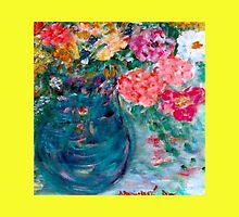 Romance Flowers Designer Art Decor & Gifts - Yellow by innocentorigina