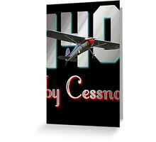 140 by Cessna -2 (Design) Greeting Card