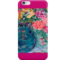Romance Flowers Designer Art Decor & Gifts - Pink iPhone Case/Skin