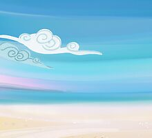 Sea and Clouds by aurielaki