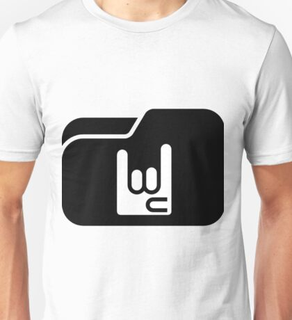 rock hand Unisex T-Shirt