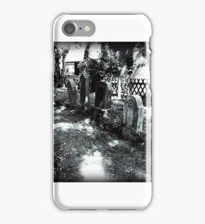 Old Jewish Cemetery - Dornum iPhone Case/Skin