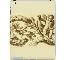 Vintage Decoration with Angels iPad Case/Skin