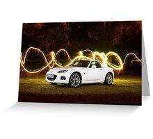 Mazda MX5 Miata Roadster 2 Greeting Card