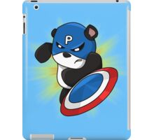 Captain Panda - The First Panda Avenger iPad Case/Skin