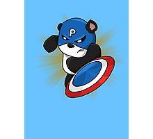 Captain Panda - The First Panda Avenger Photographic Print