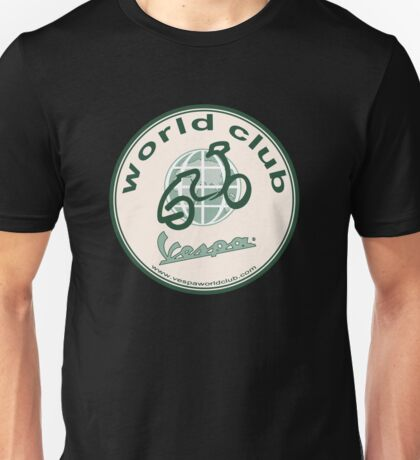 Vespa - world club Unisex T-Shirt