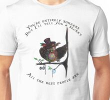 Crazy Owl - Mad Hatter inspired Unisex T-Shirt