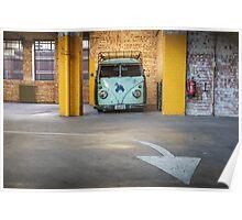 VW Beetle Bus Camper Classics 3 Poster