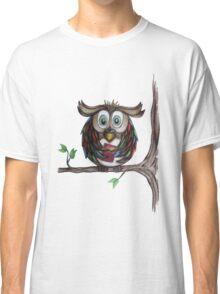 Crazy Owl - Bookworm Classic T-Shirt