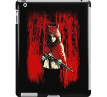 Here Comes the Red One iPad Case/Skin