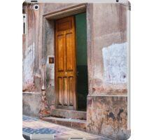 Doors of Bolivia - Ajar iPad Case/Skin