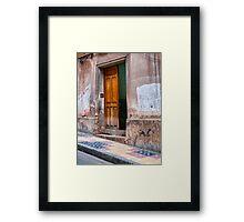 Doors of Bolivia - Ajar Framed Print