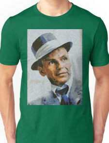 Frank Sinatra, Vintage Hollywood Legend Unisex T-Shirt