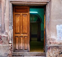 Doors of Bolivia - The Green Room by lenscraft