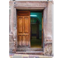 Doors of Bolivia - The Green Room iPad Case/Skin