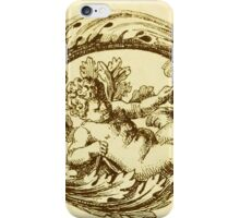 Vintage Decoration with Angels iPhone Case/Skin
