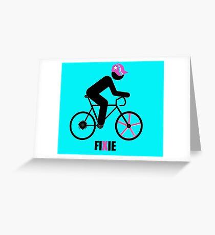 FIXIE Greeting Card