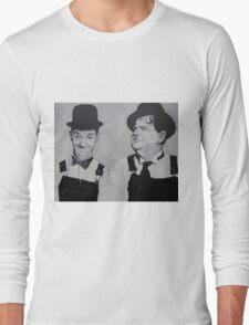 Laurel & Hardy Long Sleeve T-Shirt