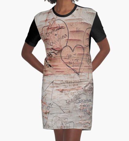 Love Memories in Lover's Lane, Green Gables Graphic T-Shirt Dress