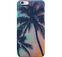 Hawaii Palm Trees At Sunset iPhone Case/Skin