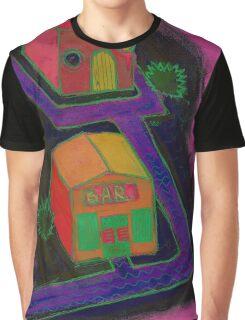 Isometric bar Graphic T-Shirt