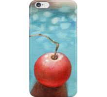 Hand drawn red tomato iPhone Case/Skin