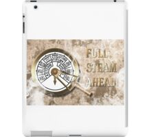 Full Steam Ahead! iPad Case/Skin